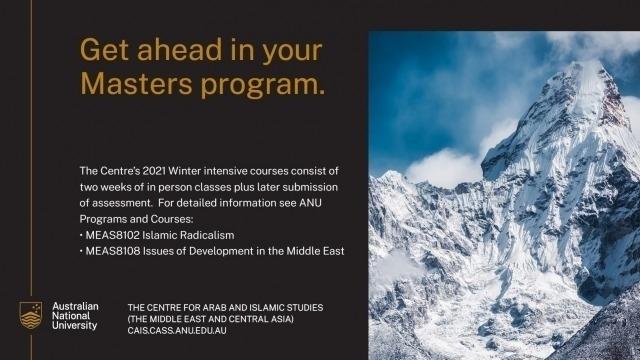 CAIS Winter Courses