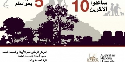 Vital information on smoke safety awareness translated into Arabic, Persian and Turkish