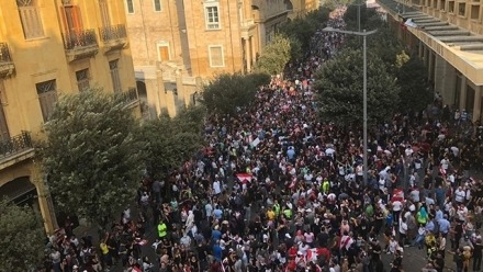 Lebanon's 2019 October Uprising and its Implications: Clinging to a sinking ship?