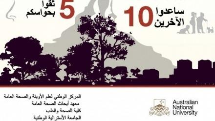 Vital information on smoke safety awareness translated into Arabic, Persian and Turkish